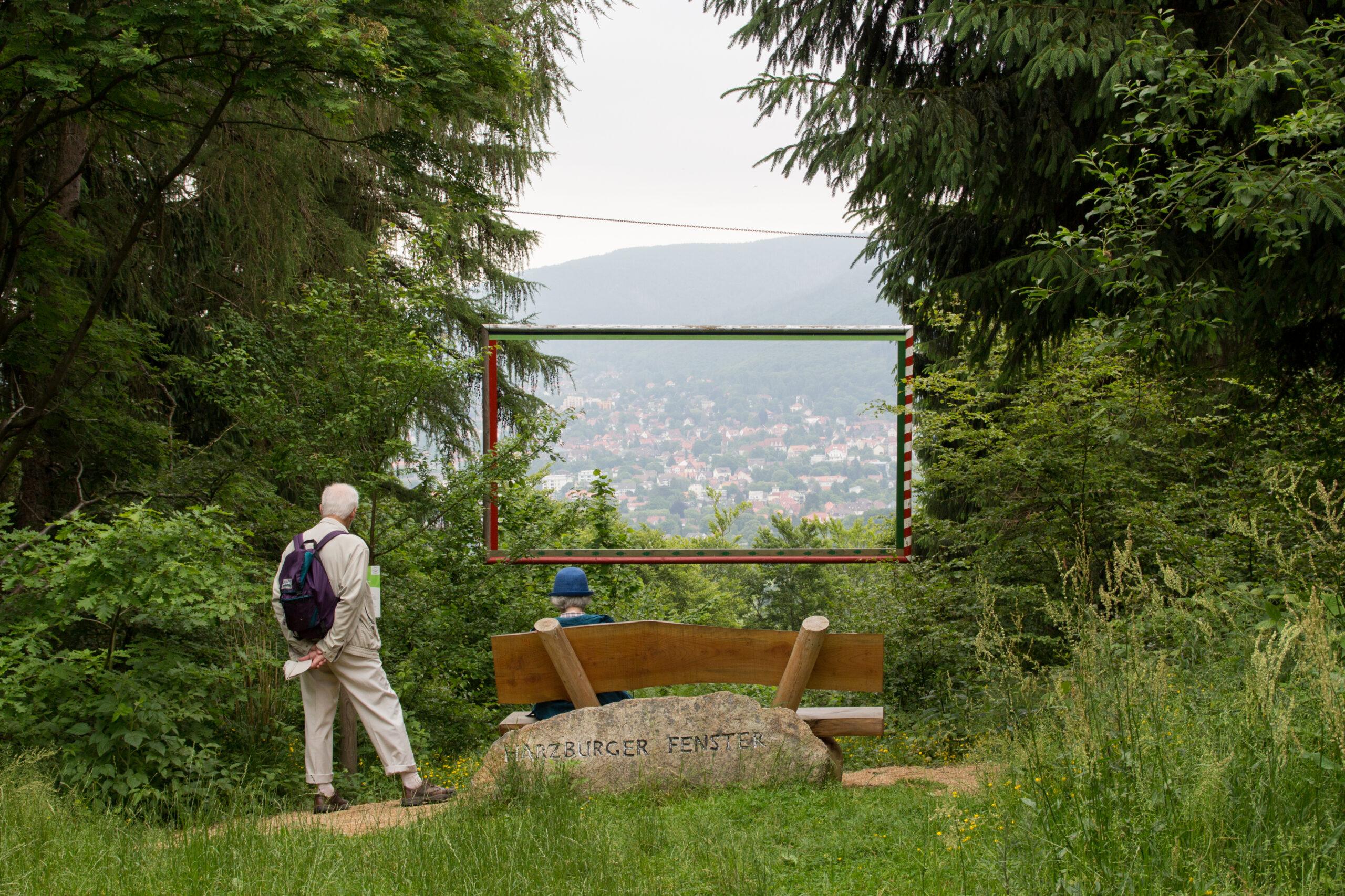 """""""Harzburger Fenster"""" på vej mod Elfenstein. Kilde: Eget arkiv."""
